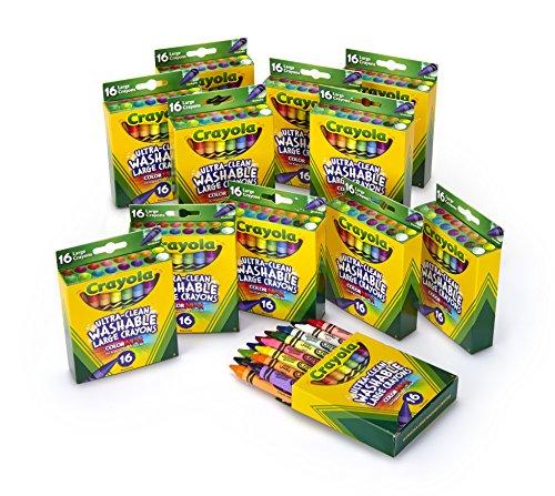 Crayola Ultra Clean Crayons Bright Washable