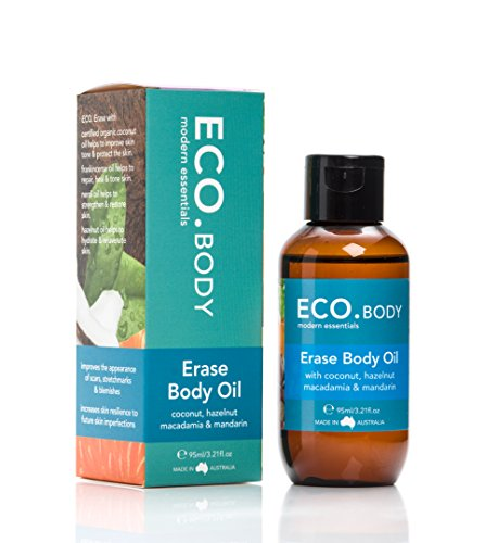 ECO  Erase Natural Body Oil, for Stretch Marks, Scars and