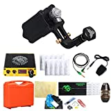DragonHawk Extreme V2S Rotary Tattoo Machine Power Supply Traditional Tattoo Needles Grips with Clip Cord Foot Pedal TZ108