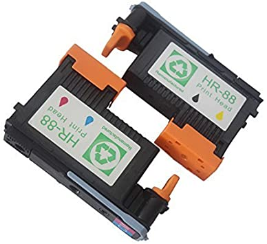 1PK Replacement For HP 88 Printhead Black/&Yellow HP Officejet Pro K5400 L7550