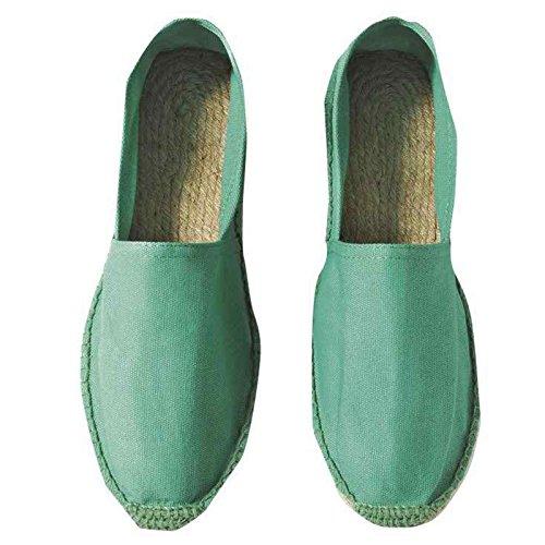 B&C - Zapatos de cordones de Caucho para mujer Pacific Green