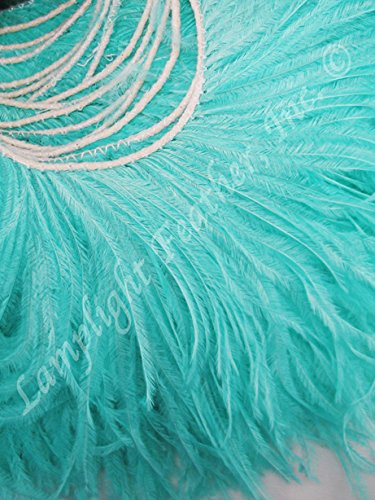 [Ostrich Feathers, MANY COLOR OPTIONS, Ostrich Fringe, Feather Trim, 5-6