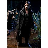 Once Upon a Time Colin O'Donoghue as Captain Hook Holding Sword in Peter Pan's Camp 8 x 10 Photo