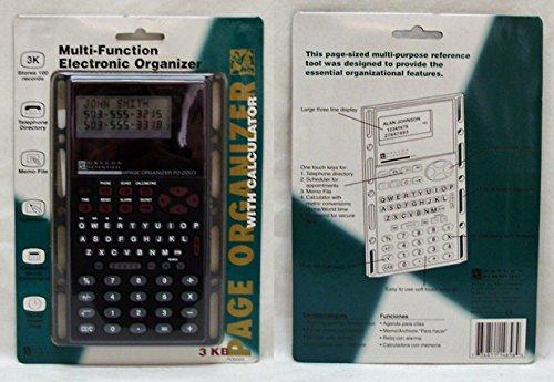 3KB Electronic Data Organizer with Calculator 12 pcs sku# 1895294MA
