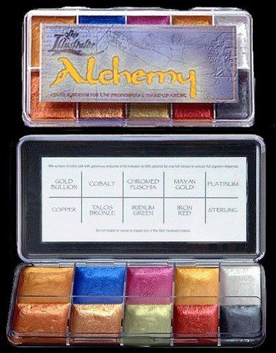 (Skin Illustrator Alchemy Palette - Jewel Tones You can use as eyeshadow! )