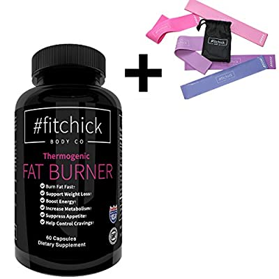Best Natural Fat Burner for Women by #fitchick Body Co - Thermogenic Fat Burner For Women