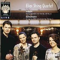 Haydn: String Quartet in E flat Op.64, No.6, Schumann: String Quartet in A minor Op.41, No.1