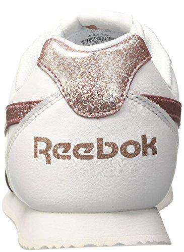 Reebok Mädchen Royal Cljog 2 Laufschuhe Mehrfarbig (Whiterose Gold Spar)