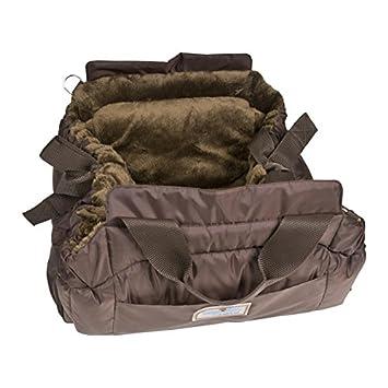 Napi Ghundoo rectangular marrón Funda y cama para perros de peluche en color marrón (XXL de 65 x 30 x 12 cm): Amazon.es: Productos para mascotas