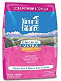 Natural Balance Original Ultra Whole Body Health Chicken Meal & Salmon Meal Formula Dry Cat Food, 15-Pound