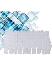 Monster Plastic monsterfles, 50 stuks 5 ml volume Plastic monsterflessen Kleine opslagcontainer Plastic fles
