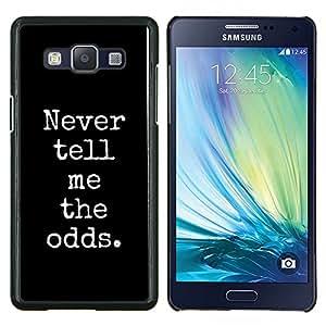 EJOOY---Cubierta de la caja de protección para la piel dura ** Samsung Galaxy A5 A5000 ** --el juego de blackjack jugador de poker negro