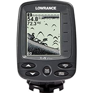 Lowrance x4 pro fishfinder sports outdoors for Amazon fish finder