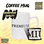 #spaniel - 14oz Hashtag White Ceramic Statesman Coffee Mug 5
