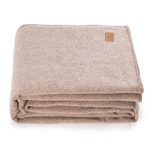 spencer&whitney Bed Blankets Wool Blanket Pink Blanket Twill Throw Blanket Rose Blanket 100% Wool Quilt Blanket Queen Size Blankets for ()