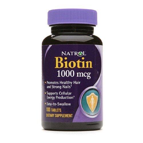 Natrol Биотин 100 таблеток