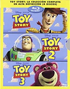 Pack: Toy Story 1, 2 Y 3 [Blu-ray]