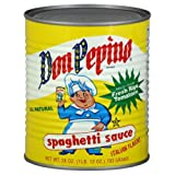 Don Pepino Sauce, Spaghetti, 28-Ounce (Pack of 6)