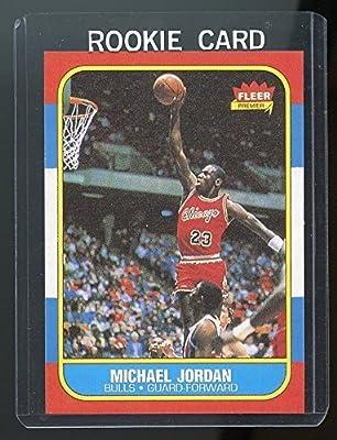 1986-87 Fleer #57 Michael Jordan Chicago Bulls Rookie REPRINT Card