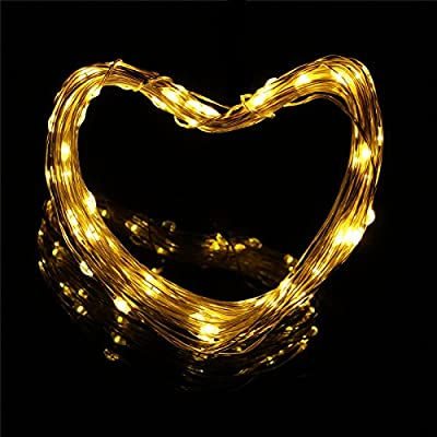Fairy Lights, GLISTENY Solar String Light 15M 150LED 8Mode Starry Strip Lights Copper Wire Lamp Waterproof IP65 Garden Outdoor For Home Bedroom Holiday Wedding Party
