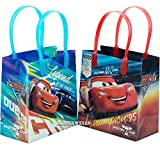 Disney Car Mcqueen Lightning 12 Premium Quality Party Favor Reusable Goodie Small Gift Bags 6''
