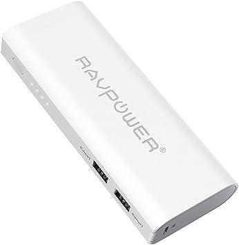 Power Bank RAVPower 13400mAh Bateria Externa Dual Salidas Cargador ...