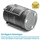 2PACK Lantern Flashlight with 6 AA Batteries - Magnetic Base - 30 LED 500Lumen Camping light - Collapsible, Waterproof, Shockproof LED Lantern with Detachable Handles by Letmy