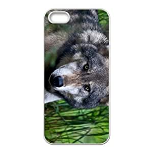The Lonely Wolf Hight Quality Plastic Case for Iphone 5s