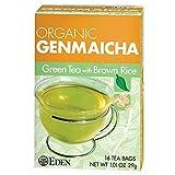 Eden Foods Genmaicha Green Tea with Brown Rice 16 Tea Bags, 1.01-Oz. (3 Pack)