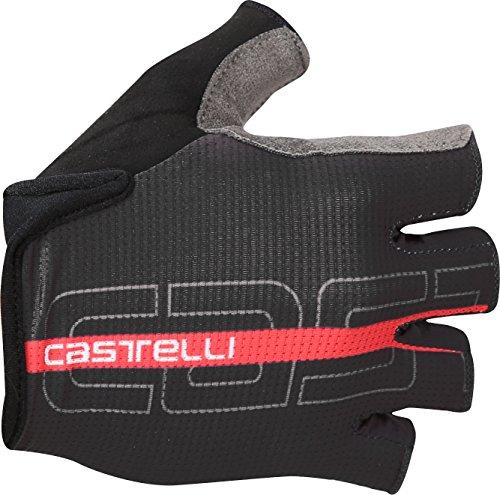 Castelli Tempo Glove - Men's Black/Red, M ()