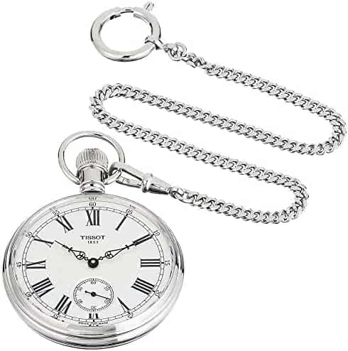 Tissot Lepine Mechanical Pocket Watch (Model: T8614059903300)