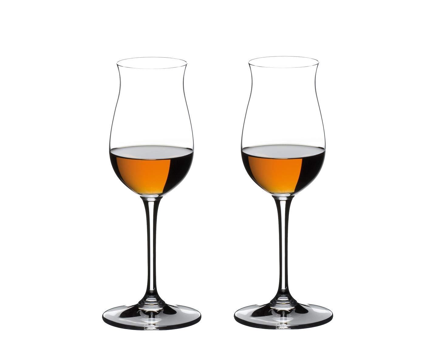 Set of 6 Riedel Vinum Leaded Crystal Brandy Cognac Glass