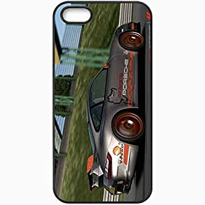 Personalized iPhone 5 5S Cell phone Case/Cover Skin Forza Motorsport 4 Black