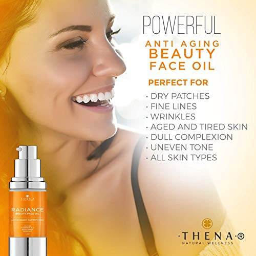51dQW5wTJOL - Anti aging Face Oil Serum With Vitamin C & E Hyaluronic Acid Jojoba Argan Rosehip Essential Oils, Organic Natural Facial Moisturizer Lotion Best Beauty Product For Dry Sensitive Skin Care Women Men