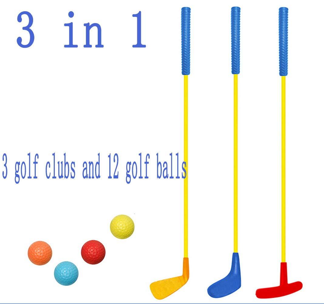 SOWOFA Club de Golf para niños Juguete Jardín de Infancia ...