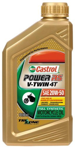Castrol Power RS V-Twin 4T Motorcycle Oil - 20W50 - 1qt. 6080
