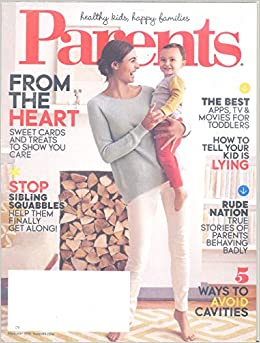 Parents Magazine February 2015 Amazoncom Books