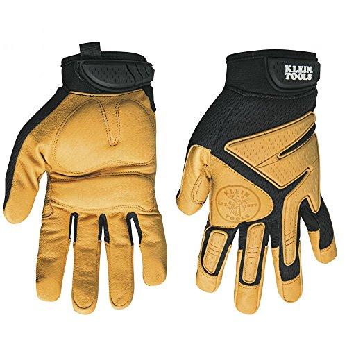 Journeyman Leather Gloves, Large Klein Tools ()