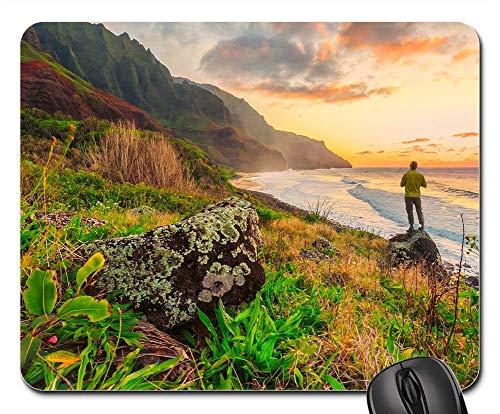 Mouse Pad - Hawaii Pacific Ocean Hike Hiking Power Individual (Best Hawaii Hikes Oahu)