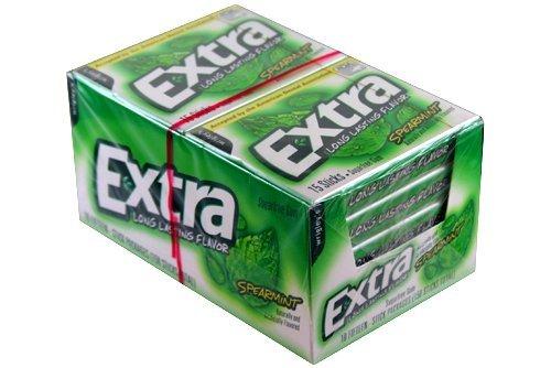 Extra Sugar Free Gum 10 Count 10 ea - Spearmint
