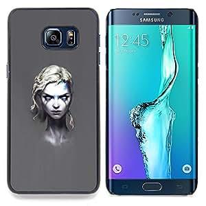 Ihec Tech Goth Girl;;;;;;;; / Funda Case back Cover guard / for Samsung Galaxy S6 Edge Plus / S6 Edge+ G928