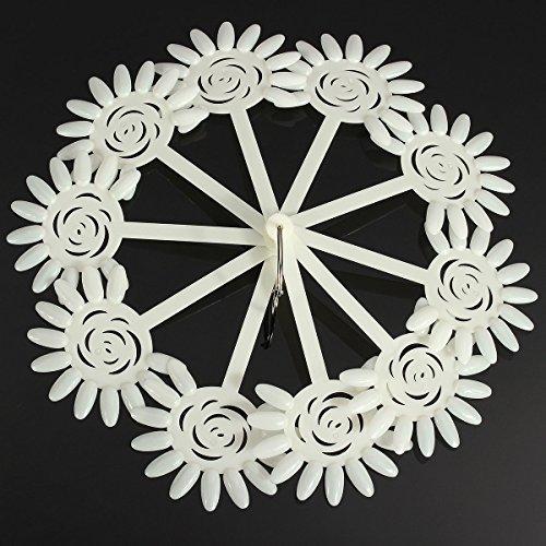 120 Tips Nail Art Design Acrylic Polish Fan Practice Stic...