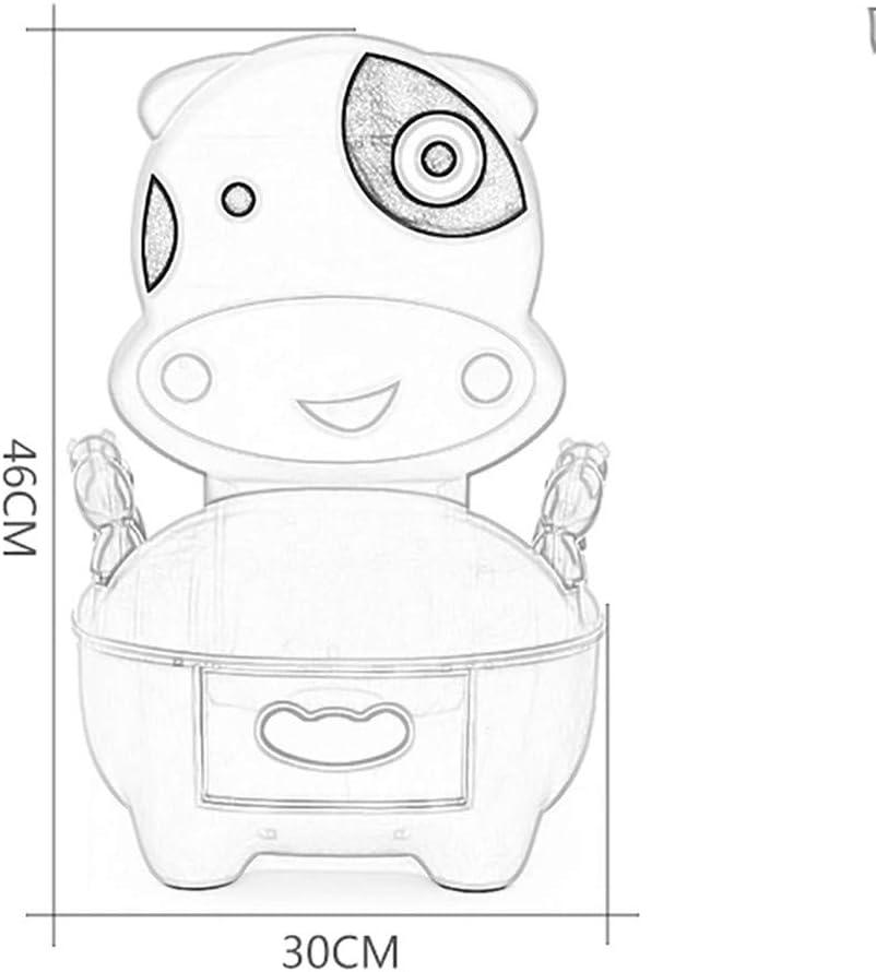 QFbp Orinal De Dibujos Animados, Orinal para Niños, con Cojines, Mini Inodoro, Taburete De Inodoro para Bebés De 1-6 Años: Amazon.es: Hogar