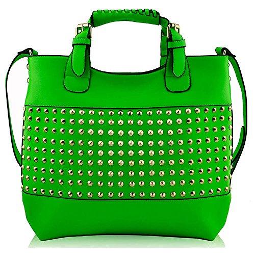 TrendStar - Bolso al hombro para mujer Verde - verde
