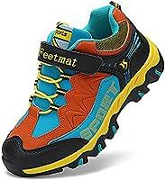 Troadlop Kids Hiking Shoes Waterproof Athletic Running Walking Sneakers for Boys Girls