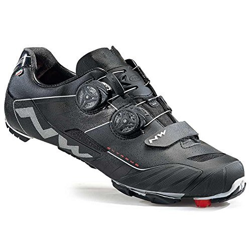 Northwave Extreme XC Cycling Shoe 2016 (Black, 44) by Northwave