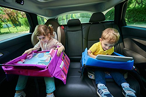 Multifunctional Children Travel Tray Provides Children WİTH Many Opportunities Like Painting, Playing Games in CAR, Bus and Airplane While Parents are Enjoying The Travel. Kids Travel Tray