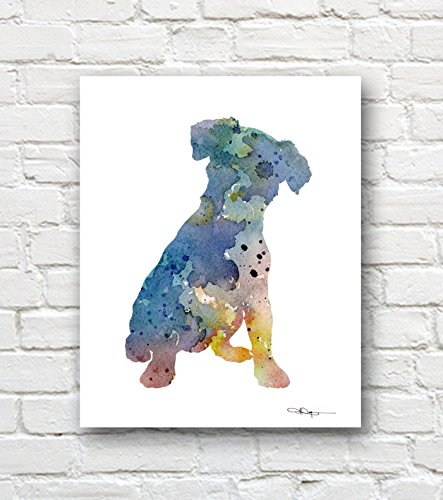 Russell Abstract Print -