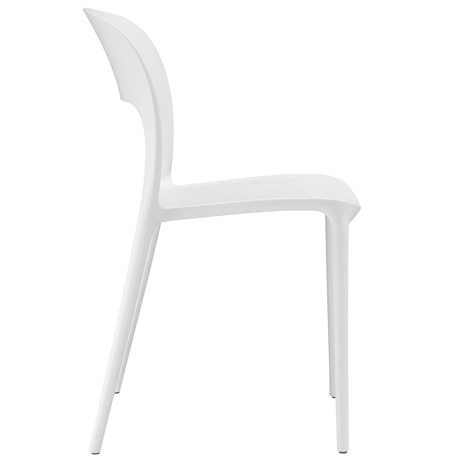 Amazon Modway Hop Dining Chair White Kitchen & Dining