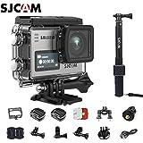 SJCAM SJ6 Kit (Including Extra Battery,Waterproof Remote Control)Dual Screen 2″ LCD Touch Screen 2880×2160 Novatek NT96660 Panasonic MN34120PA CMOS 4K Ultra HD Sport DV Action Camera
